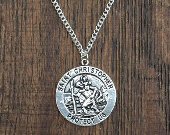 St. Christopher Necklace DB7