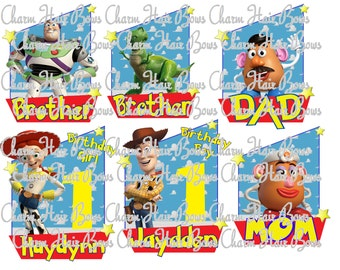 toy story family iron on (DIGITAL FILE)