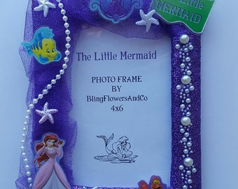 Ariel Picture Frame - The Little Mermaid Picture Frame