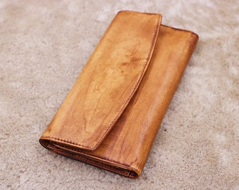 Gift,Brown leather wallet woman,leather purse woman,handmade vintage wallet,leather purse,rustic wallet,iPhone wallet