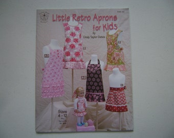 Little Retro Aprons for Kids Instruction Booklet