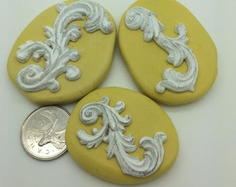 scroll accents Silicone Mold Set