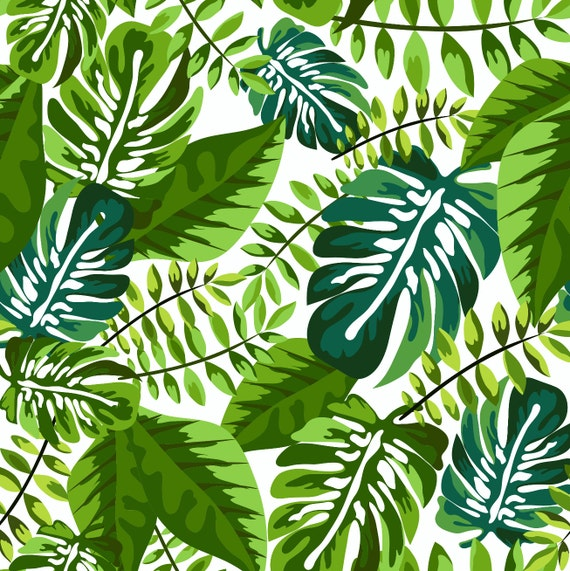 Organic Crib Sheet Green Palm Fitted Crib Sheet By Woolfwithme