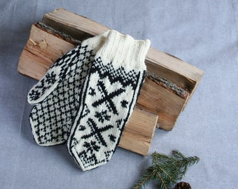 Selbu mittens, selbu gloves, Norwegian mittens, Norwegian gloves, Estonian mittens, fair isle mittens, fair isle gloves, warm winter gloves