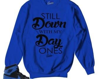 Jordan 1 Royal OG Day Ones Sweater