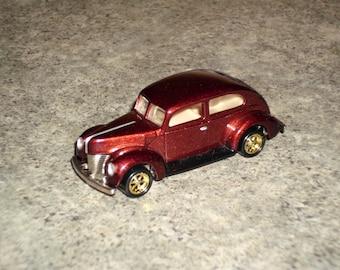 Vintage 1996 Hot Wheels - Fat Fendered - 40 Ford - Metallic Brown