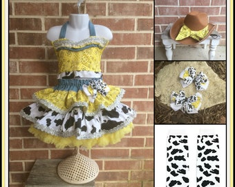 Semi Glitz Costume,  Cowgirl Western Rodeo , Western Pageant