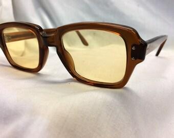True Vintage New Old Stock Military Issue Computer Gaming Lenses BCG Glasses UV & Blue Light Filter
