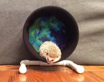 Wheel Cover, Watercolor, with Waterproof back, for Hedgehogs, Rats, and other Small Animals