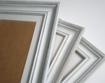 Picture frame A2 frame distressed frame shabby chic frame wood frame rustic frame home decor crafts solidwoodshop