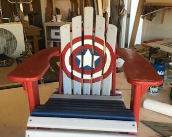 Custom Kids adirondack chairs