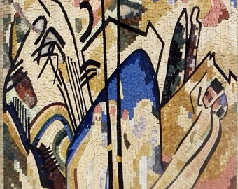 Wassily Kandinsky Mural Mosaic Reproduction