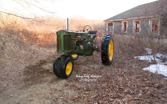 John Deer Tractor Sutton, MA 5x7 8x10 11x14