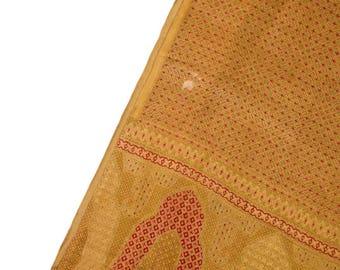 Sari, vintage sari, Indian dress, saree traditional fabric, home decor, clothes, craft, sewing PSS2556