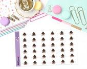 FAIT juste «Peut» Doodle papier Planner Stickers! -MAY504
