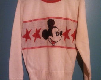 Mickey Mouse suéter / Cliff Engle / suéteres de Walt Disney / clásico Mickey / Carnaval de la moda