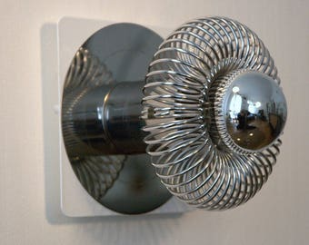 Pair of wall light, sconces vintage 70' Space Age.