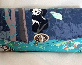 Panda Clutch Wallet