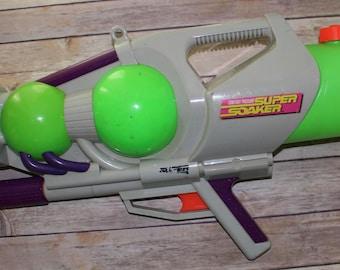 Vintage Super Soaker Nerf 1997 Constant Pressure Squirt Gun