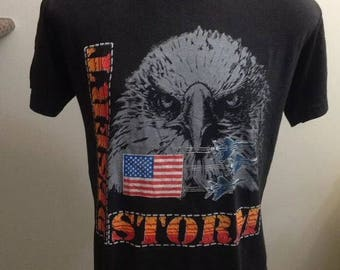 Vintage desert strom American t shirt size large 50/50