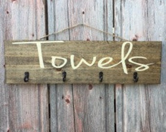 Bathroom Towel Hook Etsy