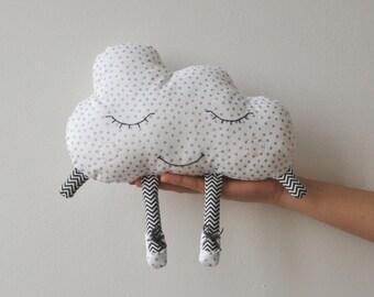 cloud pillow / Augustine the small cloud / cushion / child cushion