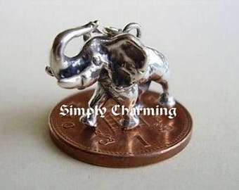 Sterling Silver Elephant Charm