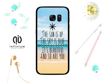 The Sun Is Up, Case For Samsung Core Prime, iPhone 7, 7 Plus, 6S, SE, 5S, Touch 6, Samsung S8, S8 Plus, S7, S7 Edge, A3, A5, J5, Galaxy J3