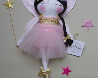 Doll 50 cm fairy made 100% by hand