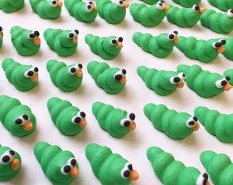 Handmade Sugar Caterpillars