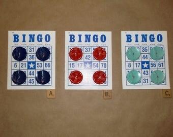 Large Vintage Plastic Buttons