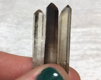 Smoky Quartz Crystals, Smoky Quartz Points, Natural Smoky Quartz, Not Irradiated, Crystals for Grounding, From Madagascar