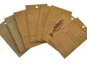 Kaisercraft: Corrugated Card Tags, Hunt & Gather