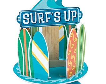The Surfing party Centerpiece / Surfing party / Surf's Party theme