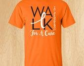 "Multiple Sclerosis ""Walk"" T-shirt"