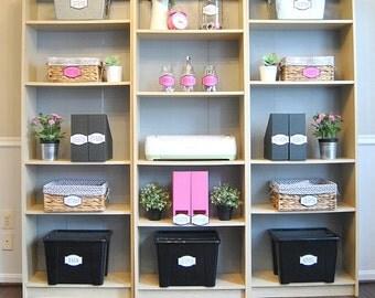 PDF: Craft Room Labels, Craft Labels, Printable Organization Labels, Craft Organization, Craft Supplies Labels, Craft Room-Instant Download