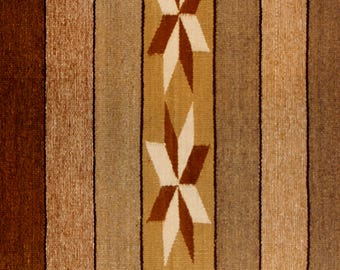Native American Navajo Chinle textile, by Annie Tsosie, Ca 1970's, #1108B