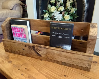 Reclaimed Wood Book Shelf
