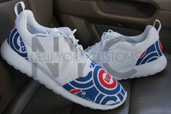 finest selection 3dd65 be1cc ... delicate Chicago Cubs 16 Nike Roshe One Run White V5 Edition .