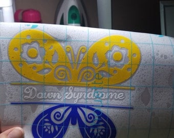 Down Syndrome Vinyl Decal