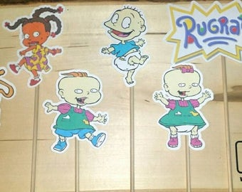 Rugrats Inspired Centerpiece Character on a Stick