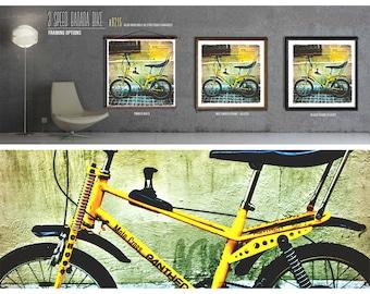 3 Speed Banana Bike - Photographic Print on Kodak Paper