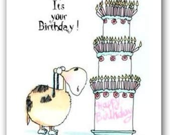 It's Your Birthday, What a Bummer- Birthday Card - 1 Card and 1 Envelope - 11170