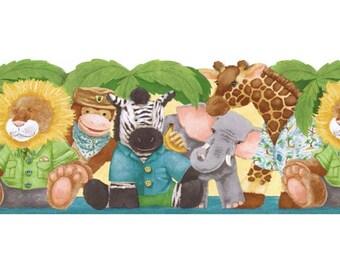 Animals JFM2839DB Wallpaper Border