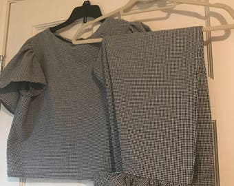 2 Piece Gingham Set- Inspired by Raggedpriest (UK)