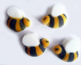 22 Edible Dec-Ons® Bumblebee Cake or Cupcake Sugar Decorations Toppers Bee
