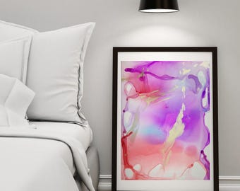 Abstract painting / fine art, smooth liquid #7 / download file