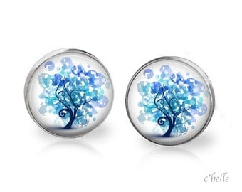 Earrings floral 11