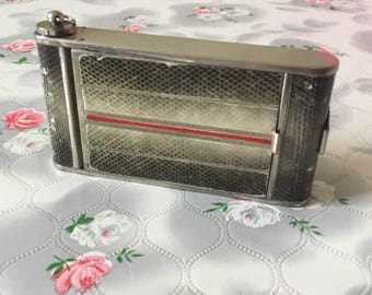 Kamra compact camera compact vintage powder compact cigarette case 1930's compact handbag mirror compact 1940's lipstick powder