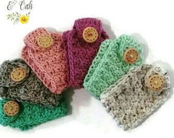 42 COLORS available!! Coffee Cup Cozy (SET of 6)  (tea cozy set) (coffee mug cozy) (coffee mug wrap) (coffee coozy)(hot tea cozy